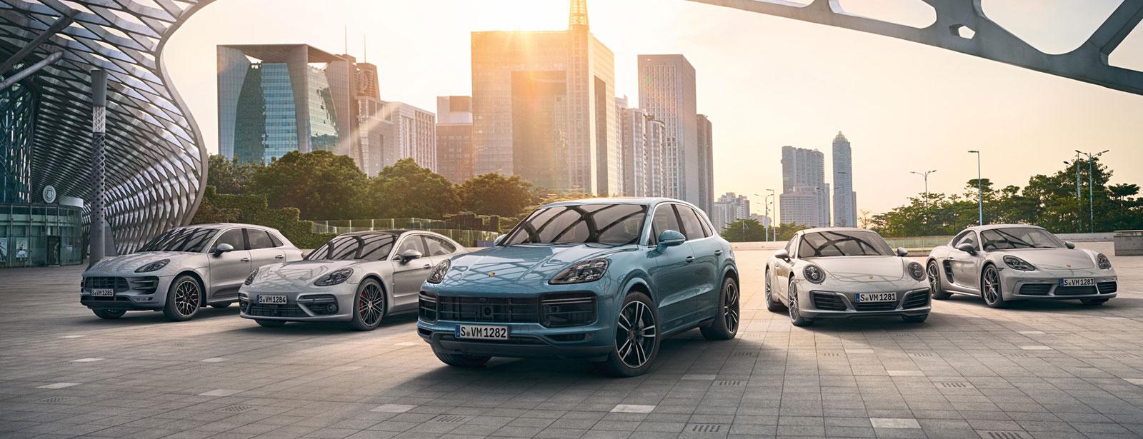 Véhicules d´entreprise et véhicules d´occasion Porsche