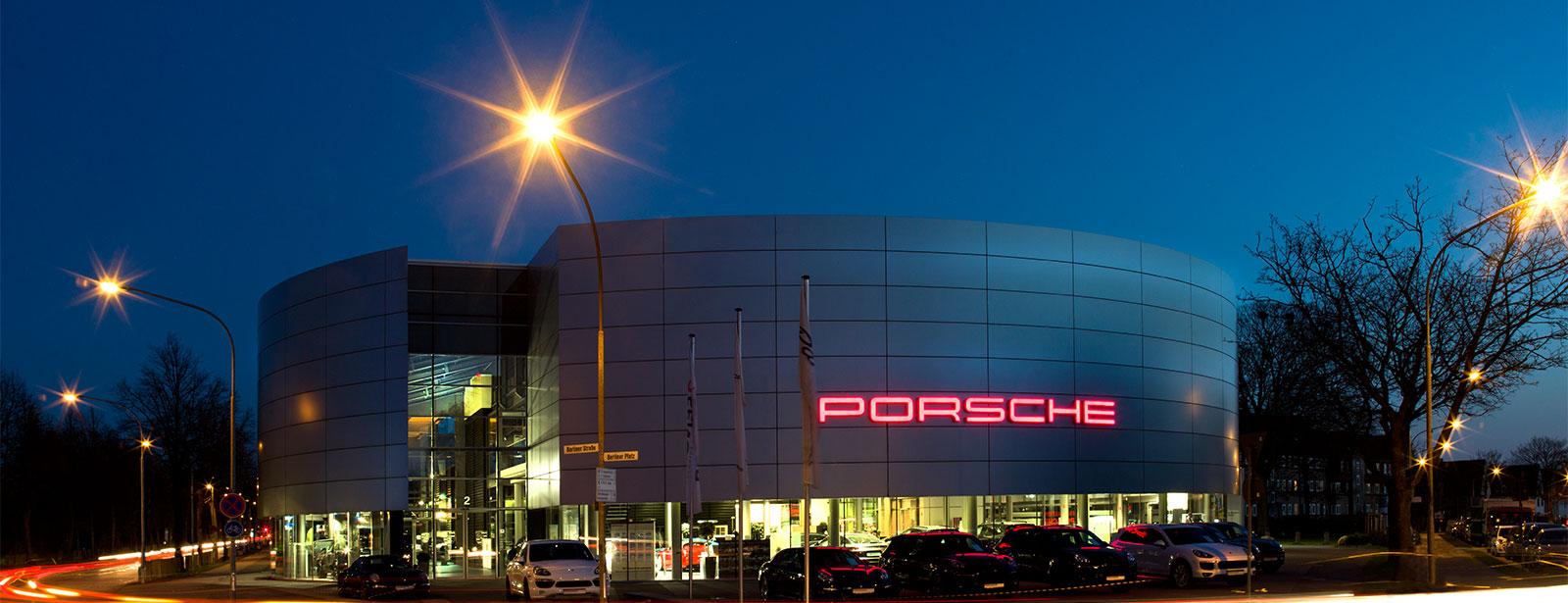Le Centre Porsche de Lübeck